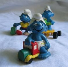 Oh Smurfs are so much fun, I know I collect them, and my kids love smurfing with them too! Oh, you don't know what Smurfing means, well is it...