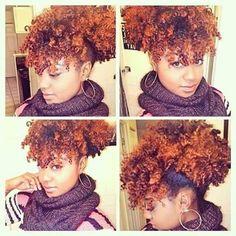 http://www.shorthaircutsforblackwomen.com/hair-steamers-for-natural-hair/ Natural hair color ideas on steamed hair.