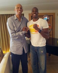 Dwight Howard x Kareem Abdul-Jabbar