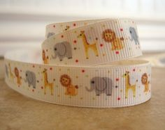 Hey, I found this really awesome Etsy listing at https://www.etsy.com/listing/68922023/animal-print-grosgrain-58-inch-ribbon-1
