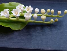 lily of the valley boutonniere corsage flowers by IrynaFleur