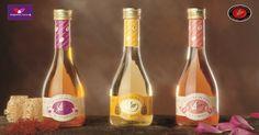 ¡Os presentamos nuestros #vinagres más especiales! #Miel #Azafrán #ALaRosa