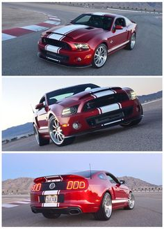 Mustang Shelby GT500 Super Snake. #Cars #Speed #HotRod Sexiest car ever...