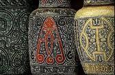 Ceramic,Marajoara Tapajônica, Maraca, Icoaraci, baskets, sculptures, bowls and biojoias