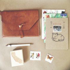 U.S. Mail Clutch | Paper Pastries