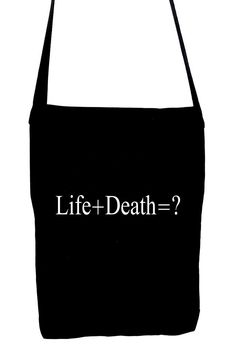 Future Corpse Tote Book Bag Alternative Goth Punk Psychobilly Dead Undead Grunge