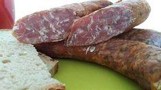 Kiełbasa surowa z majerankiem   Przepisy na domowe wędliny Sausage, Meat, Food, Canning, Sausages, Essen, Meals, Yemek, Eten