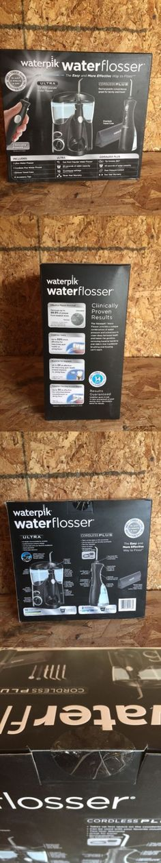 Air and Water Flossers: Waterpik Water Flosser Ultra And Cordless Plus Oral Dental Care New B98 -> BUY IT NOW ONLY: $86.99 on eBay!