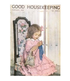 Good Housekeeping magazine cover, February 1919 Jessie Willcox Smith