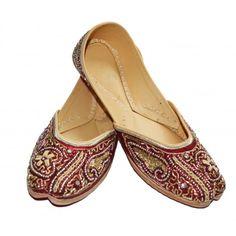 Women's Footwear - Jiapuri Mojari, flats, juti, chappals, slip-ons, sandle for womens-Footwear-Indirang