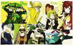 Happy tree friends anime - Google Search