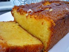 Cake à l'orange - Chez Ale Jus D'orange, Portuguese Recipes, Sponge Cake, Chocolate, Cornbread, Coco, Food Inspiration, Banana Bread, Cupcake Cakes