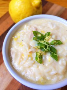 Lightened Greek Egg Lemon Soup (Avgolemono)