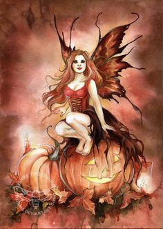 Trick or Treat Fairy Myth Mythical Mystical Legend Elf Faerie Fae Wings Fantasy Elves Faries Sprite Nymph Pixie Faeries Hadas Enchantment Forest Whimsical Whimsy Mischievous