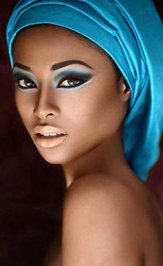 12 Fabrics And Designs That Make Great African Head Wraps Black Women Art, Beautiful Black Women, Beautiful Eyes, Beautiful African Women, African Beauty, African Art, African Fashion, Black Art Pictures, African Head Wraps