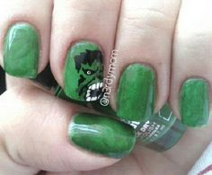 Sticky Notes, Hulk, Hair Beauty, Nail Art, Nails, Finger Nails, Ongles, Nail Arts, Nail Art Designs