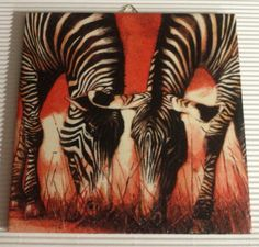 Items similar to Set of Friends Zebra's for decoupage, decoupage under glass, mixed media, scrapbooking and other art and crafts on Etsy Paper Napkins For Decoupage, Motifs Animal, African Art, Tissue Paper, Animal Print Rug, Etsy, Artwork, Crafts, Friends
