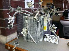 Weeded Book Sculpture Contest.