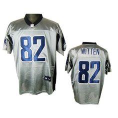 NFL shadow gray shirt Dallas Cowboys  82 Witten jersey Price   24ID  4802 0b1b686ca