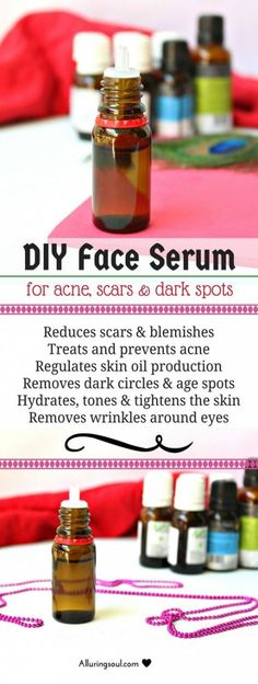 DIY face serum is the only way to nourish your skin because it has essential oils like lavender, tea tree, frankincense and other oils which is a natural blessing for your beautiful skin. Check out how i made my skin free from acne, glowing and hydrated. Beauty Care, Diy Beauty, Beauty Skin, Beauty Tips, Beauty Hacks, Beauty Products, Beauty Ideas, Face Beauty, Beauty Secrets