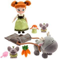 NIB Disney Animators' Collection Anna Mini Doll Play Set - - From Frozen Anna Disney, Disney Fun, Disney Frozen, Frozen 6, Frozen Kids, Disney Parks, Disney Princess Dolls, Disney Dolls, Doll Toys