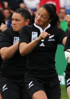 Must see the full game on youtube! This girl is legit! ...Women's Rugby World Cup Final 2010 Women's Rugby World Cup Final 2010 England vs New Zealand