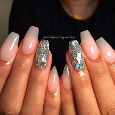 ✨❄️❄️✨ simple, beautiful NYE nails #nails #nye #nyenails #nailart #glitter #glitterheavenaustralia #encapsulated #brokenmirrors #coffinnails #stilettonails #notpolish #nailstagram #nails2inspire #naildesigns #nailsdid #nailsoftheday #bgdn #dcnails #dmvnails #dcnailtech #dcstylist #mdnails