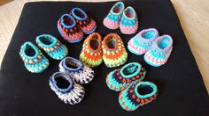 Crochet Galilee Booties