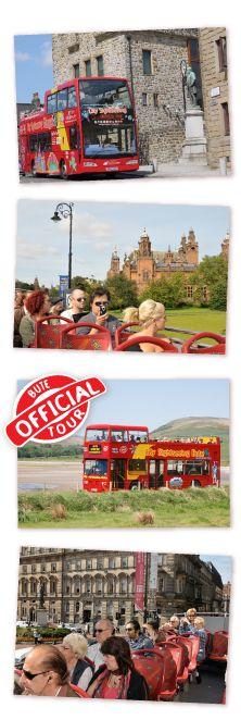Fares - City Sightseeing Glasgow open top bus tours
