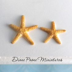 miniature gardening: Starfish Set of 3 Nautical Beach Seaside Ocean Dollhouse Miniature | eBay