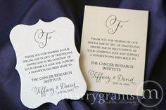 Donation Wedding Favors on Pinterest | Wedding Favours, Wedding favors ...