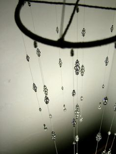 Made only with Swarovski Crystal this chandelier mobile is a statement piece…