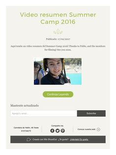 Video resumen Summer Camp 2016