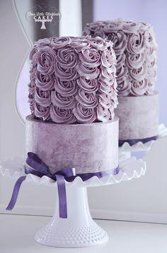 Pretty Wedding Cakes Inspiration. To see more: http://www.modwedding.com/2014/04/28 Featured Cake Design: Three Little Blackbirds