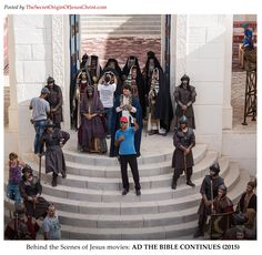 """AD The Bible Continues 2016 an NBC mini-series that takes up where """"The BIble"""" left off. Produced by Roma Downey and Mark Burnett."""