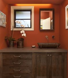 valspars sienna on wall my obsession with colors pinterest walls kitchen colors and orange painted rooms