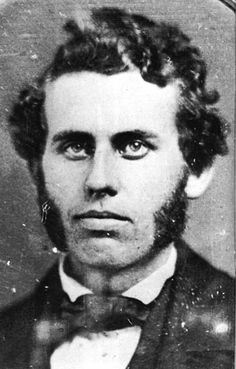 John T. Ford, manager of Ford's Theater, where Abraham Lincoln was shot.  My ancestor. He was hot, wasn't he? And he was a very accomplished and philanthropic man too.