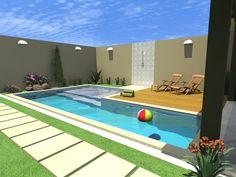 area de piscina moderna - Pesquisa Google