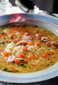Flavors of Brazil: RECIPE - Chicken and Rice Soup (Canja)