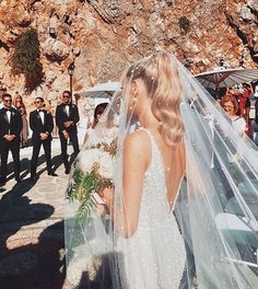 Georgia + Michael ♥️ When your priests house entrance is this incredible! by Bridal Journey™ Wedding Goals, Wedding Day, Arch Wedding, Wedding Greenery, Wedding Reception, Wedding Dress Veil, Wedding Tips, Wedding Movies, Budget Wedding