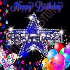 Dallas Cowboys Happy Birthday, Dallas Cowboys Coaches, Dallas Cowboys Cake, Dallas Cowboys Quotes, Dallas Cowboys Pictures, Cowboy Birthday, Football Team, Dallas Cowboys Wallpaper, Birthday Wishes