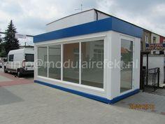 Tijdelijke kantoor, Winkel, Unitbouw, VERKOOPKANTOOR, Bureelcabine, Bijgebouwen
