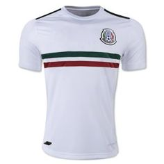402ac21f7 2018 World Cup Jersey Mexico Away Replica White Shirt 2018 World Cup Jersey  Mexico Away Replica White Shirt