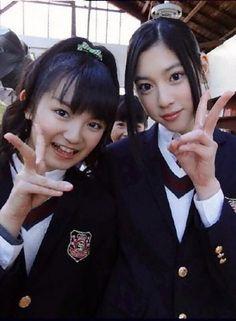 Suzuka Nakamoto and Ayaka Miyoshi