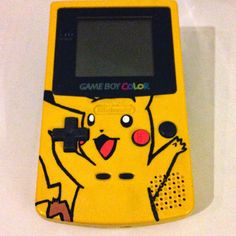 Pikachu Game boy Color #pikachu#pokemon#pokémon#gameboy#custom#paint