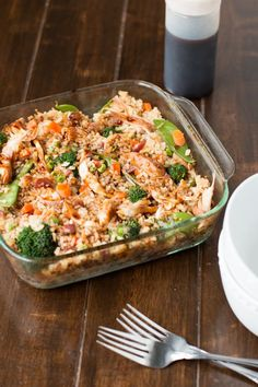This teriyaki chicken casserole was a blessing in the midst of a few trials that we chose to laugh about and came out better people because of it. Plus it's killer yummy! ohsweetbasil.com
