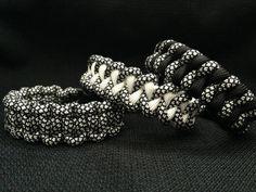 Paracord Bracelets using Silver Diamond paracord color by 4PawsSpiritBracelets