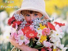 gifs flores de primavera - Buscar con Google