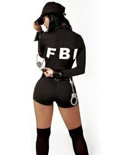 Disfraz FBI