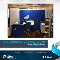 #GCPAppliedTechnologies @ #AusIMM #MillOperatorsConference #ConferenceBooth
